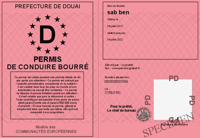 prefecture du cher permis de conduire permis de conduire. Black Bedroom Furniture Sets. Home Design Ideas