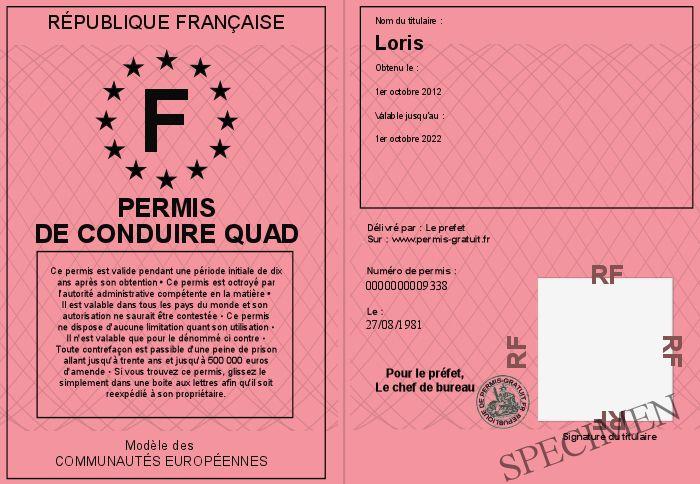 Permis de conduire quad - Reussir le permis de conduire du premier coup ...